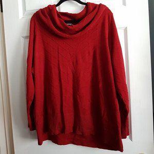 Plus Cowl Turtleneck Sweater